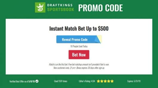 85ebfa865 DraftKings Sportsbook Promo Code -  200 Free Bet (Updated)