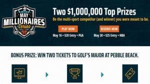 DraftKings May $5.5 Millionaires Series