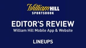 William Hill Sportsbook Review & Promo Code