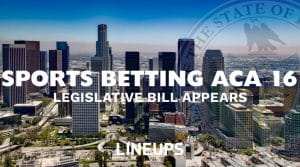 Sports Betting Bill Makes an Appearance in California