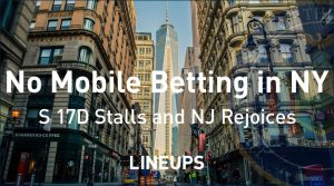 No Mobile Sports Betting in New York in 2019