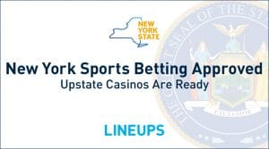 New York State Gaming Commission Approves Sports Betting Regulations: Upstate Casinos Are Ready