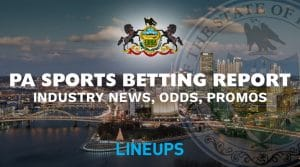PA Sports Betting Report 7/12: News, Sugarhouse Odds & Promos