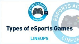 What Games Are Played In eSports?