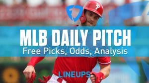 MLB Daily Pennsylvania Pitch 8/24/19: FanDuel Sportsbook Betting Odds & Analysis
