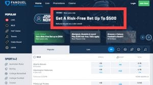 How to Secure a $500 Risk-Free Bet on FanDuel's Pennsylvania Sportsbook