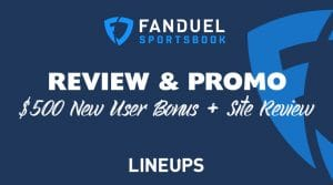 FanDuel Pennsylvania Sportsbook Review & $500 New User Promo