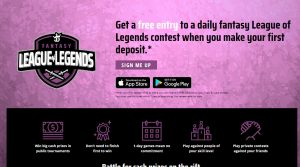 Experience of a first LOL DraftKings contest