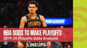 NBA Odds To Make Playoffs 2019-20