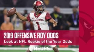 NFL Offensive Rookie Of The Year Odds 2019-20