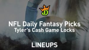 DraftKings NFL Daily Fantasy Cash Game Picks (Conference Championship Round)