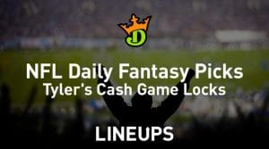 DraftKings NFL Daily Fantasy Cash Game Picks Week 5