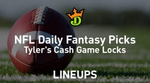 DraftKings NFL Daily Fantasy Cash Game Picks Week 7