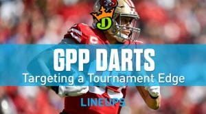 DraftKings NFL Week 1 GPP Tournament Picks: Daily Fantasy Advice & Strategy