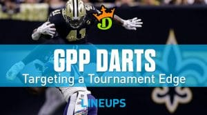 DraftKings NFL Week 2 GPP Tournament Picks: Daily Fantasy Advice & Strategy