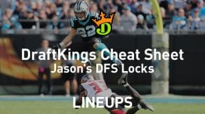 DraftKings NFL Week 1 Cheat Sheet: Daily Fantasy Rankings, Projections, Stacks (Free Download)