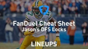 FanDuel NFL Divisional Round Cheat Sheet: Daily Fantasy Rankings, Projections, Stacks (Free Download)