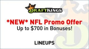 New DraftKings Sportsbook NFL Promotional Offer (Pennsylvania Could be Soon via Penn National Deal)