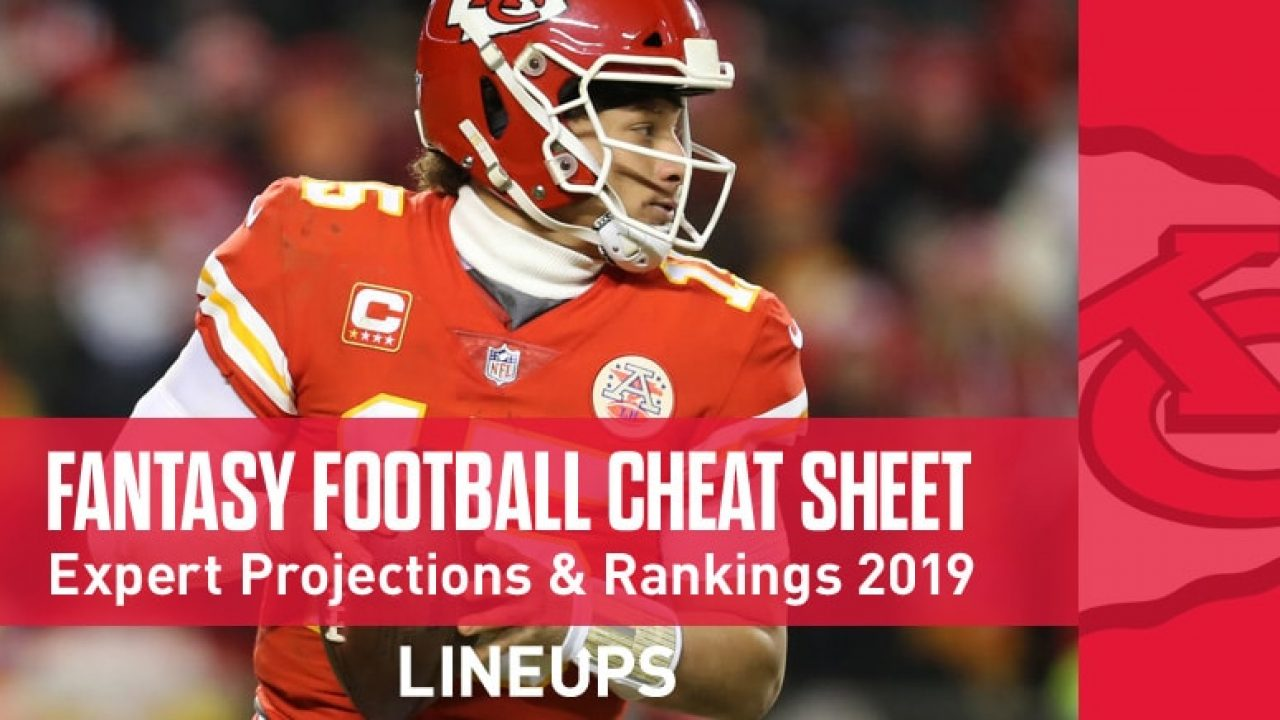 Best Fantasy Kickers 2020.Fantasy Football Cheat Sheet Expert Rankings And