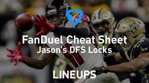 FanDuel NFL Week 7 Cheat Sheet: Daily Fantasy Rankings, Projections, Stacks (Free Download)