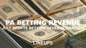 Pennsylvania Sports Betting Revenue: July 2019