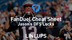 FanDuel NFL Week 2 Cheat Sheet: Daily Fantasy Rankings, Projections, Stacks (Free Download)