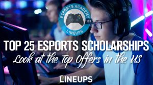 Top 25 eSports Scholarships: Ranking US University/College Programs