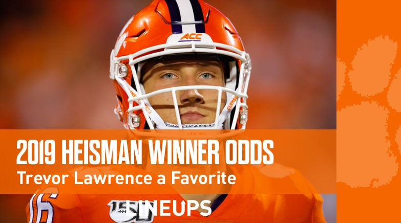 2020 Heisman Trophy Winner Odds: Trevor Lawrence a Favorite