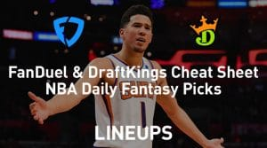 FanDuel & DraftKings NBA Cheat Sheet 1/24/19