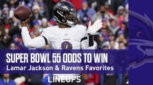 Super Bowl 55 Odds in 2021: Baltimore Ravens, Niners & Chiefs all Favorites