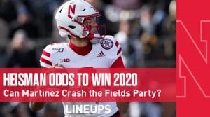 Heisman Winner Odds 2020: Justin Fields vs. Trevor Lawrence (Can Martinez Crash the Party?)