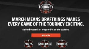 DraftKings Sportsbook Tourney Mania Launches for March Madness 2020