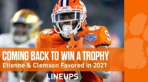 2021 College Football National Championship Odds: Clemson Tigers Favored