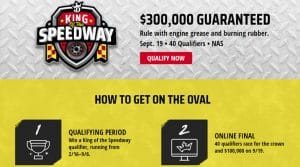 DraftKings King of the Speedway 2020