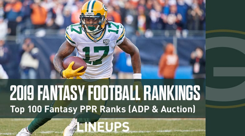 2019 fantasy football rankings top 100