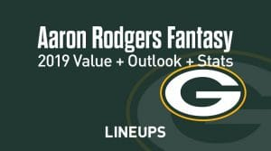 Aaron Rodgers Fantasy Football Outlook & Value 2019