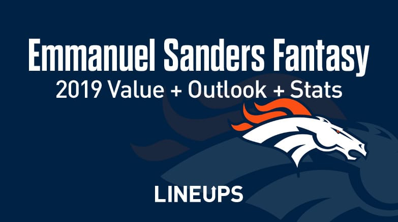 Emmanuel Sanders Fantasy Value 2019