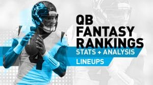 Week 2 QB Rankings: Quarterback Fantasy Stats & Projections