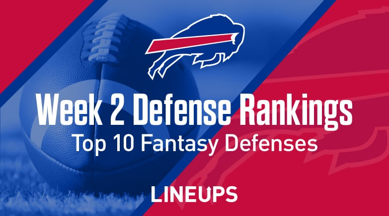 Week 2 Top 10 Fantasy Football Defense Rankings Bills To Score In Top 6