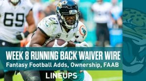 Week 8 RB Waiver Pickups & Adds: Running Back Fantasy