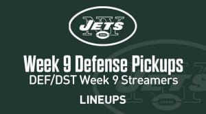 Week 9 Defense (DEF/DST) Waiver Wire Pickups: Fantasy Streamers
