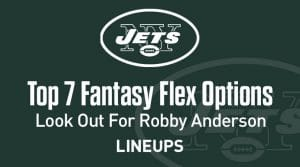 Top 7 Flex Fantasy Options for Week 13: Robby Anderson Looking at a Potentially Huge Game