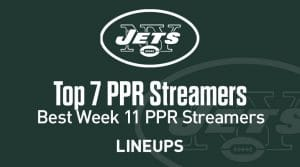 Top 7 Week 11 Fantasy Football PPR Streamers