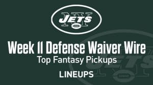 Week 11 Defense (DEF/DST) Waiver Wire Pickups: Fantasy Streamers