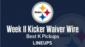 Week 11 Kicker Waiver Wire Pickups & Adds