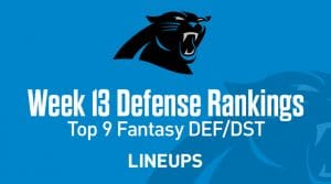 Top 9 Fantasy Football Defense Rankings for Week 13: Panthers Pounce on Haskins and Skins