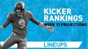 Week 13 Kicker Rankings & Pickups: Younghoe Is Kool Again