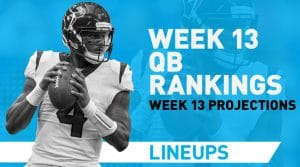 Week 13 QB Rankings & Fantasy Stats: Lamar Jackson Making History