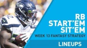 Week 13 RB Start, Sit Fantasy Strategy: Fire Up Ronald Jones