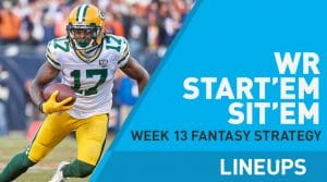 Week 13 WR Start, Sit Fantasy Strategy: T.Y. Hilton's Injury A Concern